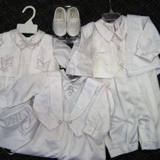 white baby suits