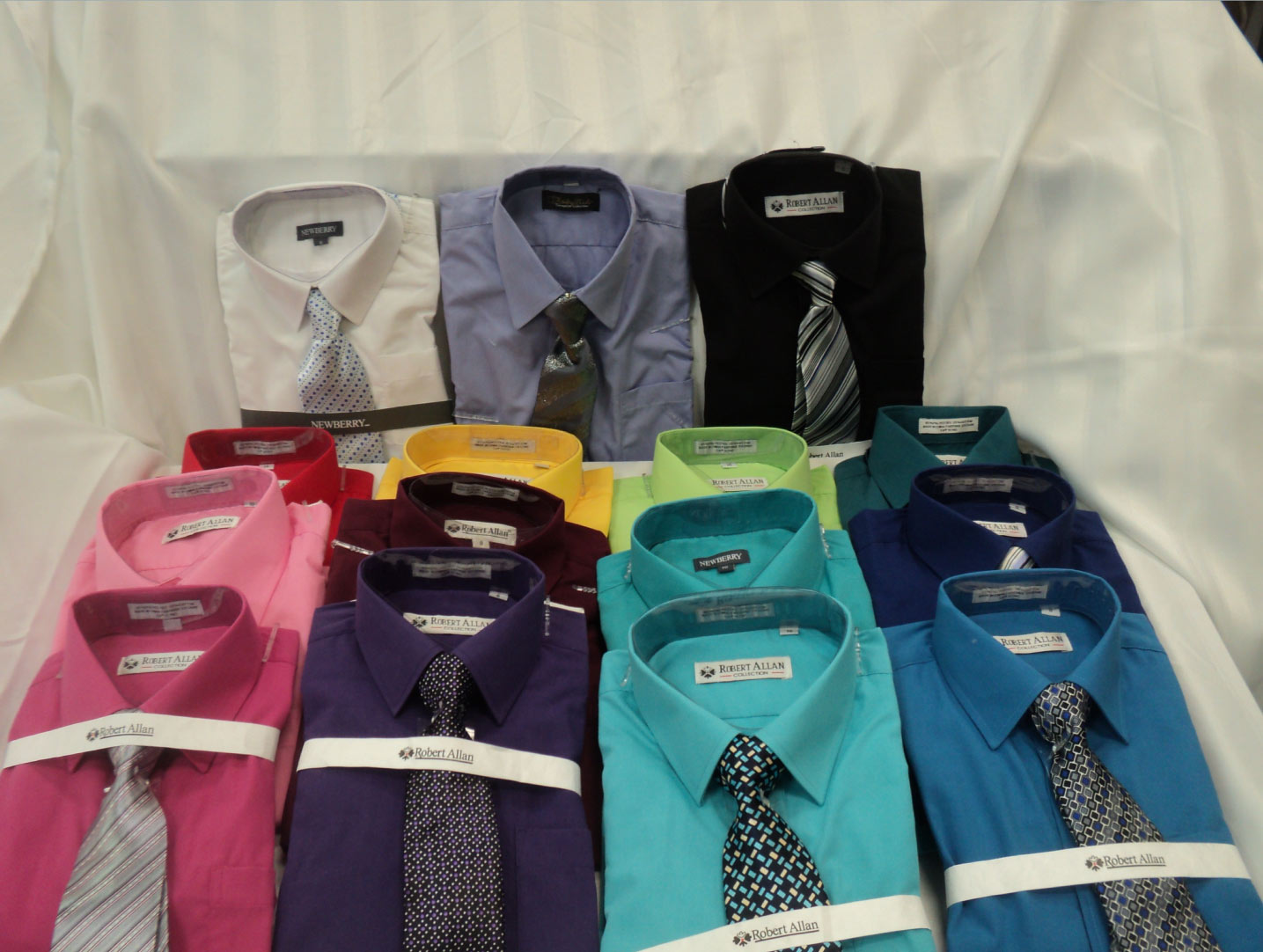 dress shirts colorful